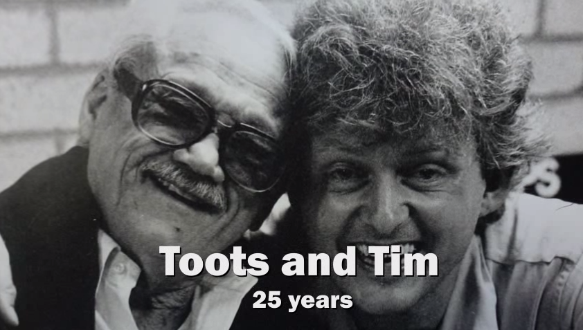 Tim Welvaars and Toots Thielemans